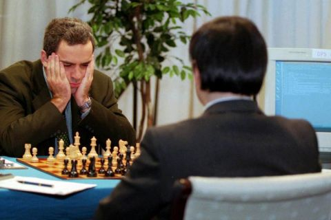 Γκάρι Κασπάροφ vs Deep Blue #1