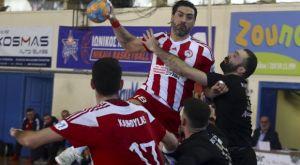 Handball Premier: Δυσκολεύτηκε, αλλά νίκησε ο Ολυμπιακός