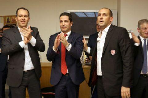 Έργα και ημέρες του Σφαιρόπουλου στον Ολυμπιακό