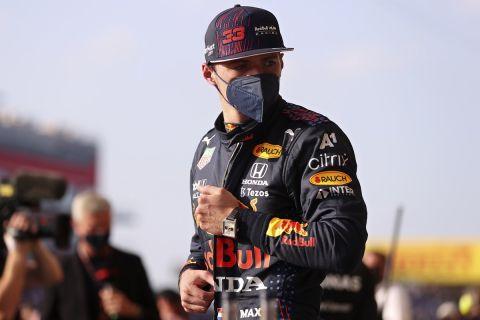 Ο Μαξ Φερστάπεν  της Red Bull Racing στο GP της Μ. Βρετανίας