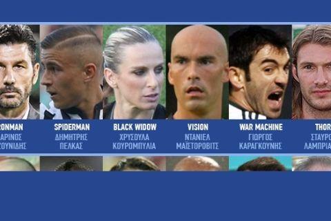 Αντικαταστήσαμε τους Avengers με Έλληνες ποδοσφαιριστές (και το αποτέλεσμα δεν μας δικαίωσε)