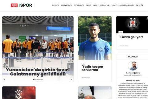 """Γαλατασαράι: Τα τουρκικά ΜΜΕ γράφουν για """"πρωτόγονη και αγενή"""" στάση της Ελλάδος"""