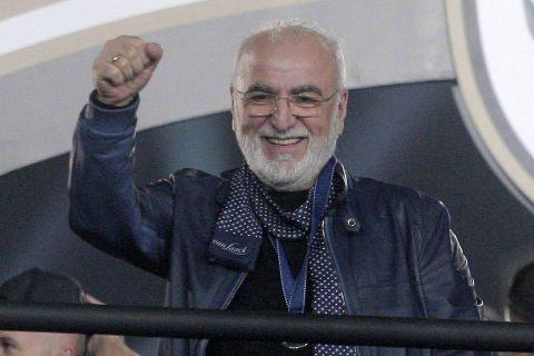 Ο Ιβάν Σαββίδης σε παιχνίδι του ΠΑΟΚ στην Τούμπα