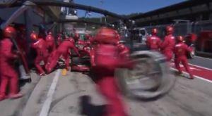 Pit stop παρωδία για τη Ferrari: Δεν είχαν φέρει τα ελαστικά