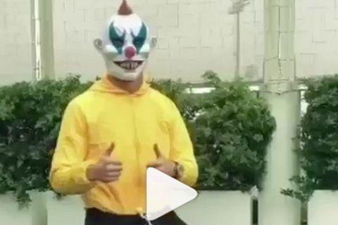 O Κριστιάνο Ρονάλντο μασκαρεύτηκε για το Halloween