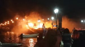 Με καπνογόνα υποδέχτηκαν τη Νίκη στην Λευκάδα
