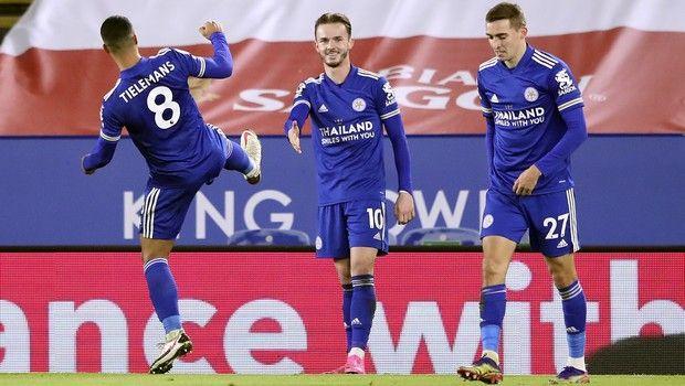 Λέστερ - Σαουθάμπτον 2-0: Μάντισον και Μπαρνς την έστειλαν στη 2η θέση
