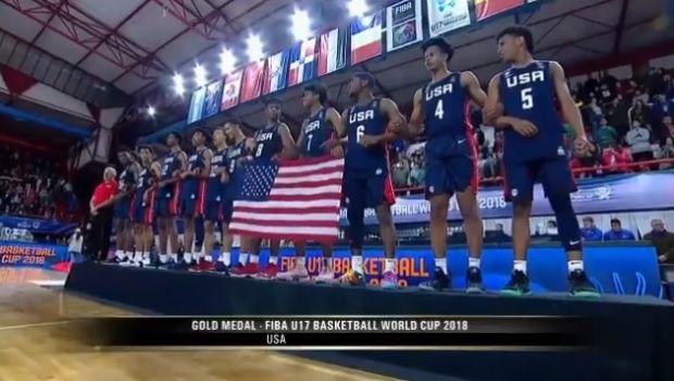 FIBA U17: Παρέμειναν στον θρόνο τους οι Αμερικανοί
