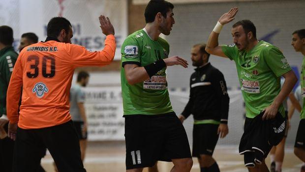 Handball Premier: Διπλό τετράδας για τον Διομήδη