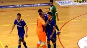 Futsal: Έχασε το ματς, κέρδισε τις εντυπώσεις η ΑΕΚ
