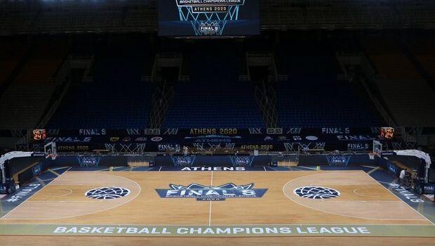 Πανέμορφο το ΟΑΚΑ για το Final Eight του Basketball Champions League