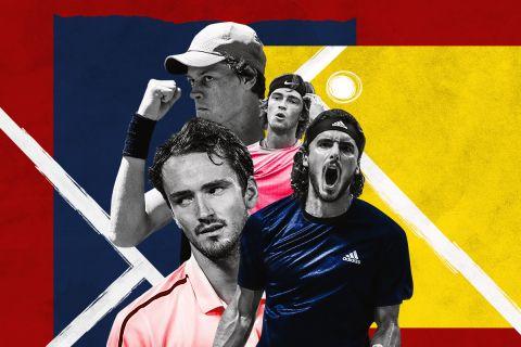 Οι κορυφαίοι εκπρόσωποι της νέας γενιάς του τένις