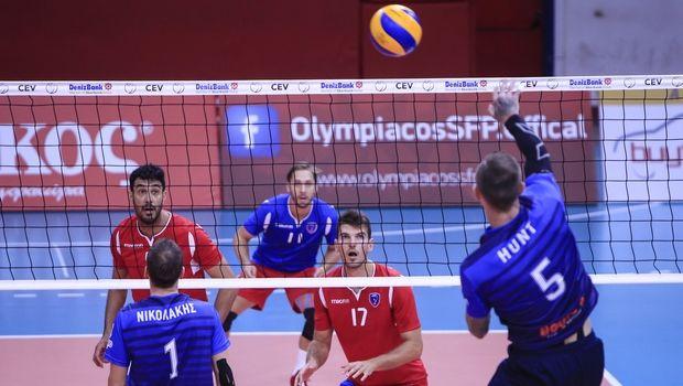 Volleyleague ανδρών: Δυνατά ματς σε τριπλό ταμπλό