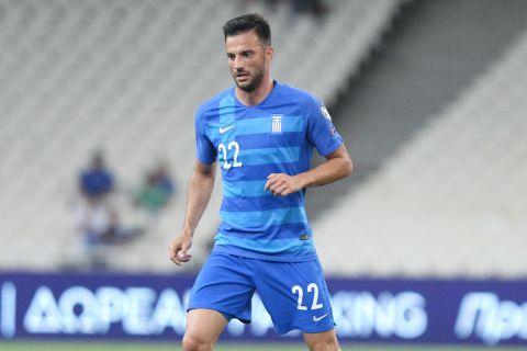 Ο Σάμαρης στην αναμέτρηση της Εθνικής Ελλάδας με το Λίχτενσταϊν