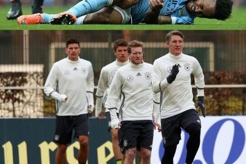 Στέρλινγκ και Σβάινσταϊγκερ ίσως χάσουν το Euro 2016