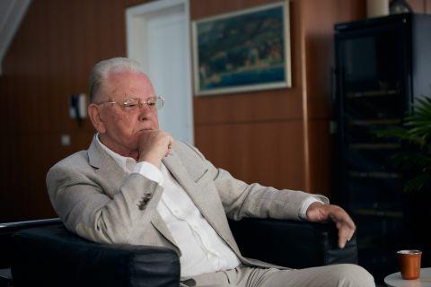 Ο Ντούσαν Ίβκοβιτς μιλάει στον απεσταλμένο του SPORT24 στο Βελιγράδι