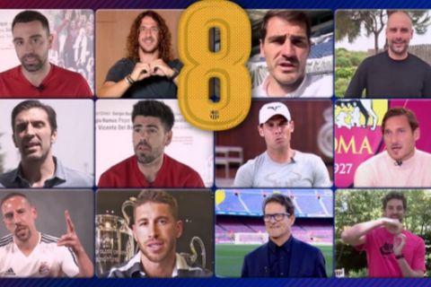 """Το υπέροχο video της Μπαρτσελόνα για τον Ινιέστα: """"Gracias Infinitas"""""""