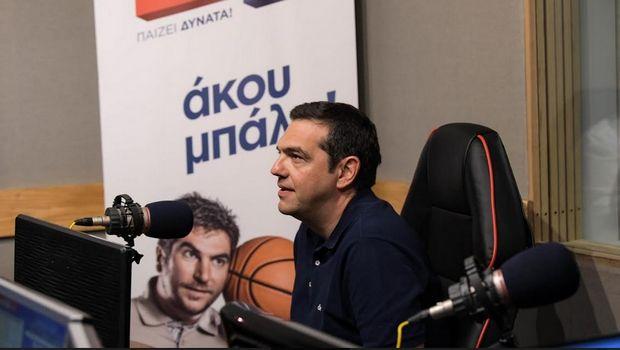 """Αλέξης Τσίπρας: """"Πρότεινα πρωτάθλημα 10 ομάδων"""" (photos +HXHTIKO)"""
