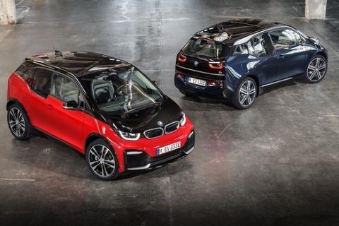 Πιο πλούσιες εκδόσεις για τα ηλεκτρικά BMW i3 και BMW i3s