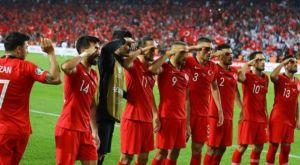 UEFA και FIG ερευνούν τον στρατιωτικό χαιρετισμό των Τούρκων αθλητών