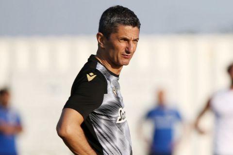 Ο Λουτσέσκου στην πρώτη προπόνηση του ΠΑΟΚ για τη σεζόν 2021-22 | 29 Ιουνίου 2021