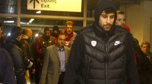 Αποχώρησε από τον ημιτελικό ο Ολυμπιακός, μπλοκαρισμενη στο ΟΑΚΑ η αποστολή