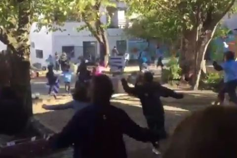 Στην Ουρουγουάη βλέπουν Μουντιάλ την ώρα του μαθήματος!