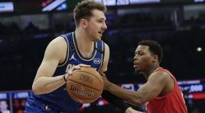 2020 NBA All-Star Game: Ο Λούκα Ντόντσιτς έπαθε πλάκα με την Κάρντι Μπι