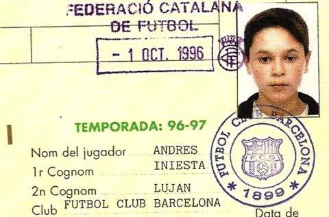 Αντρές Ινιέστα: Ο Andresín που έγινε Don Andrés