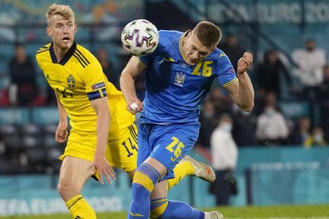 Ο Ντόβμπικ σκοράρει στο Σουηδία - Ουκρανία για τη φάση των 16 του Euro 2020