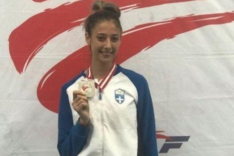 Η πρωταθλήτρια του Τάε Κβον Ντο, Φένια Τζέλη