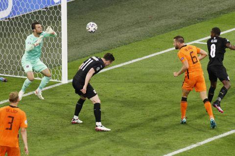 Οι Ολλανδοί αστοχούν σε διπλή ευκαιρία στο ματς με την Αυστρία   17 Ιουνίου 2021