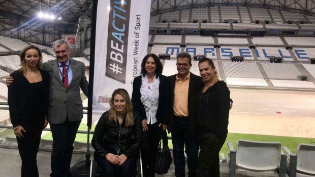 Ο Συναδινός στη Μασσαλία για το ελληνικό πρόγραμμα άθλησης για όλους BEACTIVE