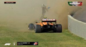 Formula 1: Διέλυσε τη McLaren ο Νόρις και προκάλεσε κόκκινη σημαία στο Μουτζέλο