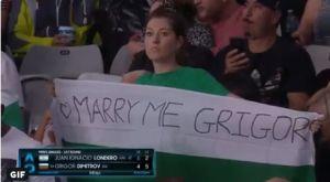 Australian Open: Η πρόταση γάμου στον Ντιμιτρόβ και η απίθανη φόρμα του