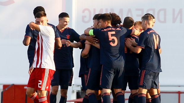 Κ19 Μπάγερν - Ολυμπιακός 6-0: Σταμάτησαν στα έξι οι Γερμανοί