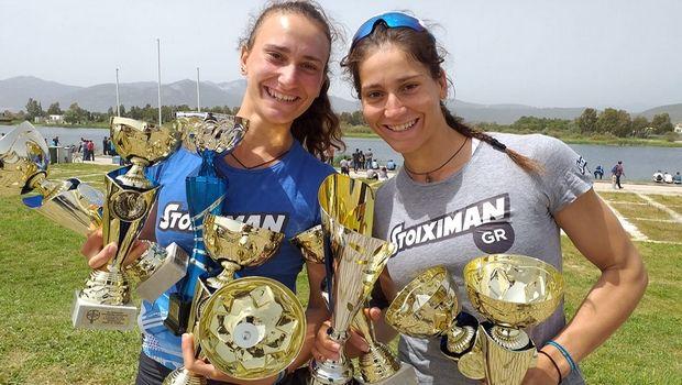 Αννέτα και Μαρία Κυρίδου, τραβάνε κουπί για μετάλλια