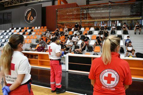 Συνεργασία ΕΣΑΚΕ και Ελληνικού Ερυθρού Σταυρού και στο 2ο HNC Coin Super Cup