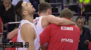 Η στιγμή απόγνωσης του Παπανικολάου στον τραυματισμό του Μιλουτίνοβ