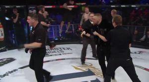 Σοκ: ΑΠΙΣΤΕΥΤΟ επεισόδιο του McGregor με διαιτητή στο Bellator