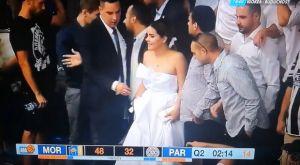 Παρτιζάν: Παντρεύτηκαν και πήγαν κατευθείαν στο γήπεδο!
