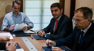 Συνάντηση Αυγενάκη με Μητσοτάκη για την εθνική πολιτική στον αθλητισμό
