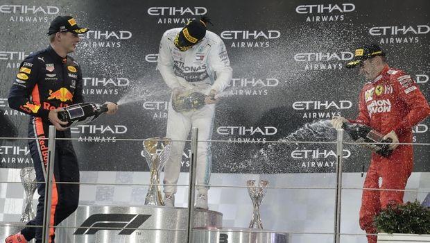 F1: Ο κορονοϊός βάζει τέλος σε απονομές και σαμπάνιες