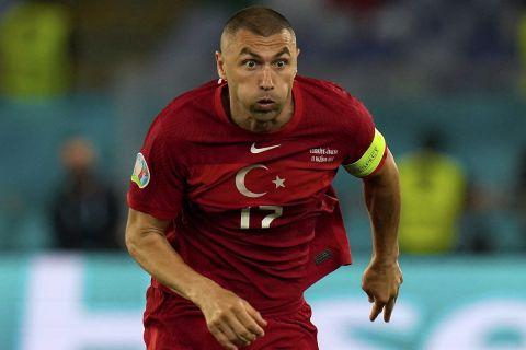 Ο Μπουράκ Γιλμάζ της Τουρκίας στην πρεμιέρα του Euro 2020 κόντρα στην Ιταλία