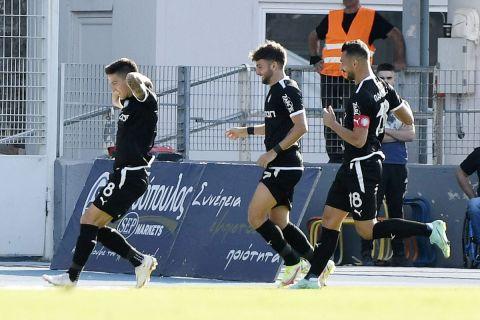 Οι παίκτες του ΟΦΗ πανηγυρίζουν το γκολ του Νέιρα κόντρα στον ΠΑΣ | 27 Σεπτεμβρίου 2021