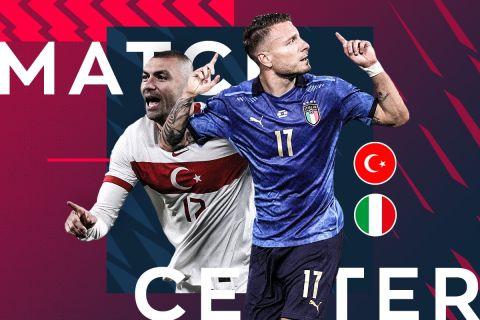 Euro 2020 Live: Τουρκία - Ιταλία