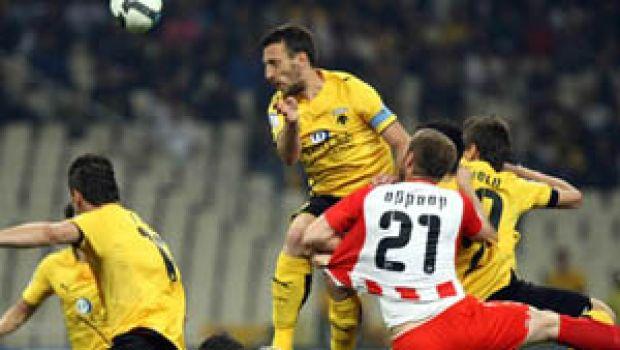 ΑΕΚ-Ολυμπιακός 2-1 - Super League Σουρωτή - SPORT 24 84a3372ef3d