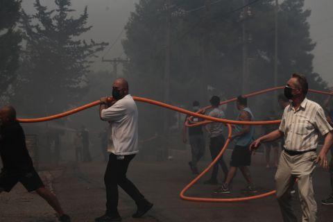 Ο ΕΣΑΚΕ στο πλευρό του Ερυθρού Σταυρού για την ενίσχυση των πυρόπληκτων