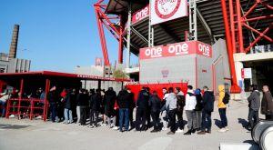 Ολυμπιακός: Ζητά περισσότερα εισιτήρια από την Άρσεναλ, εξαντλήθηκαν τα 5.500