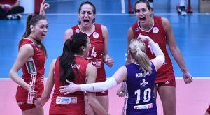 Volleyleague γυναικών: Δυσκολεύτηκε, αλλά έκανε το 1-0 ο Ολυμπιακός